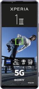 Repair of a broken Sony Xperia 1 III Smartphone