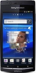Repair of a broken Sony Xperia arc S Smartphone
